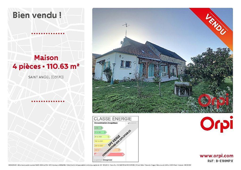 Maison à vendre 4 110.63m2 à Saint-Angel vignette-1