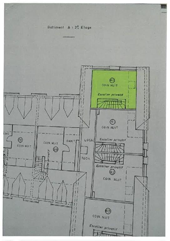Appartement à louer 2 30.01m2 à Tours plan-1