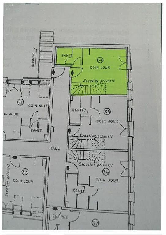 Appartement à louer 2 30.01m2 à Tours plan-2