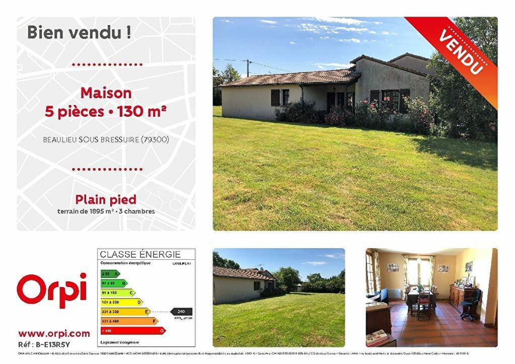 Maison à vendre 5 130m2 à Bressuire vignette-1