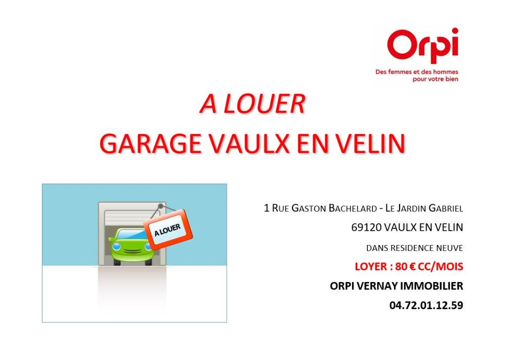 Stationnement à louer 0 0m2 à Vaulx-en-Velin vignette-2
