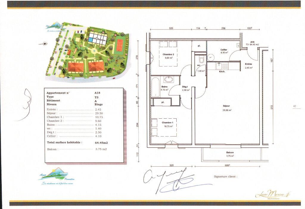 Appartement à louer 2 65.41m2 à Tonnay-Charente vignette-1