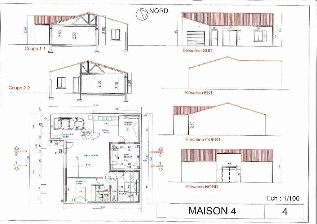 Maison à vendre 4 83.64m2 à Vergeroux vignette-2