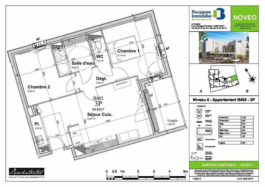 Appartement à louer 3 55m2 à Caen vignette-9