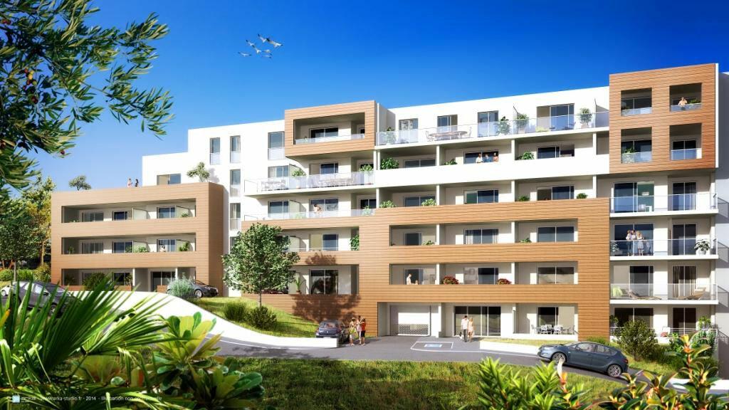 Appartement à louer 1 27.5m2 à Ajaccio vignette-1