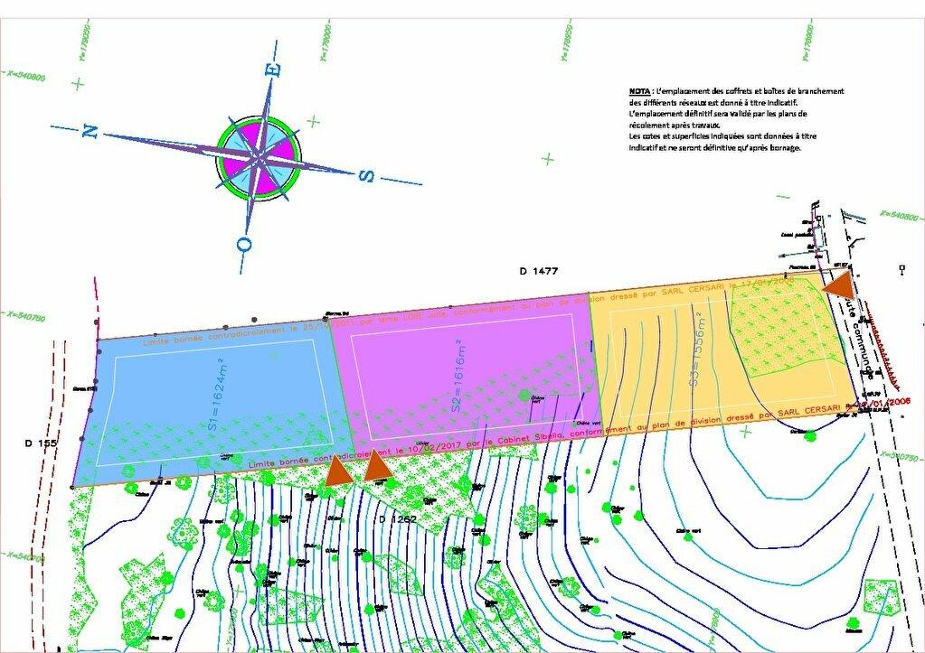 Terrain à vendre 0 1616m2 à Eccica-Suarella vignette-2