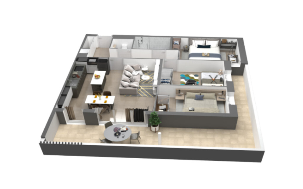 Appartement à vendre 4 78.05m2 à Ajaccio vignette-7