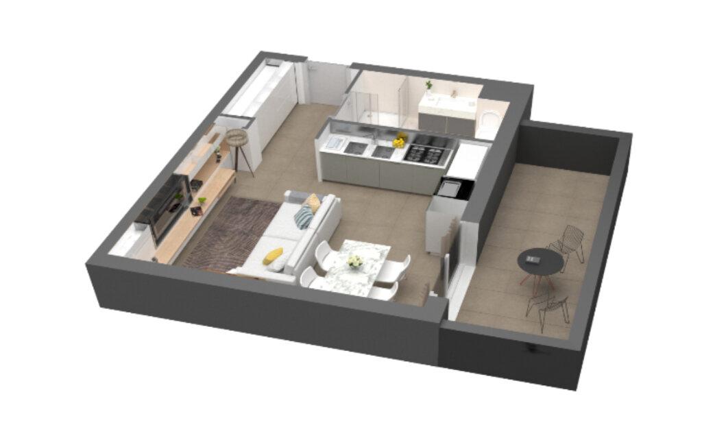 Appartement à vendre 1 32.1m2 à Ajaccio vignette-4