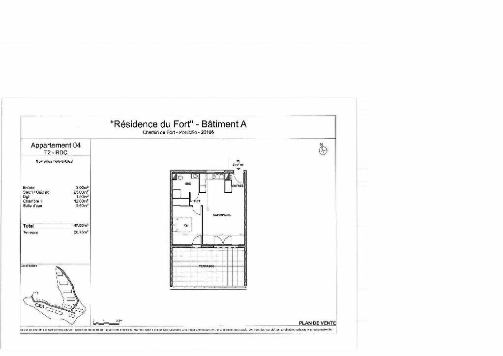 Appartement à vendre 2 47m2 à Grosseto-Prugna vignette-3