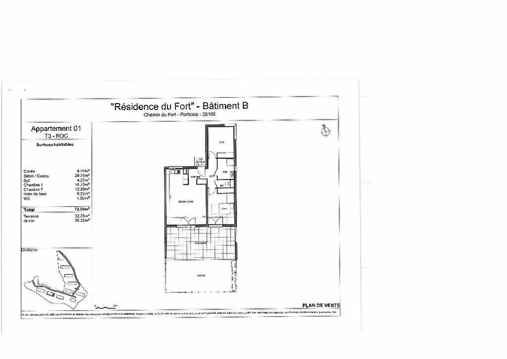Appartement à vendre 3 72m2 à Grosseto-Prugna vignette-3