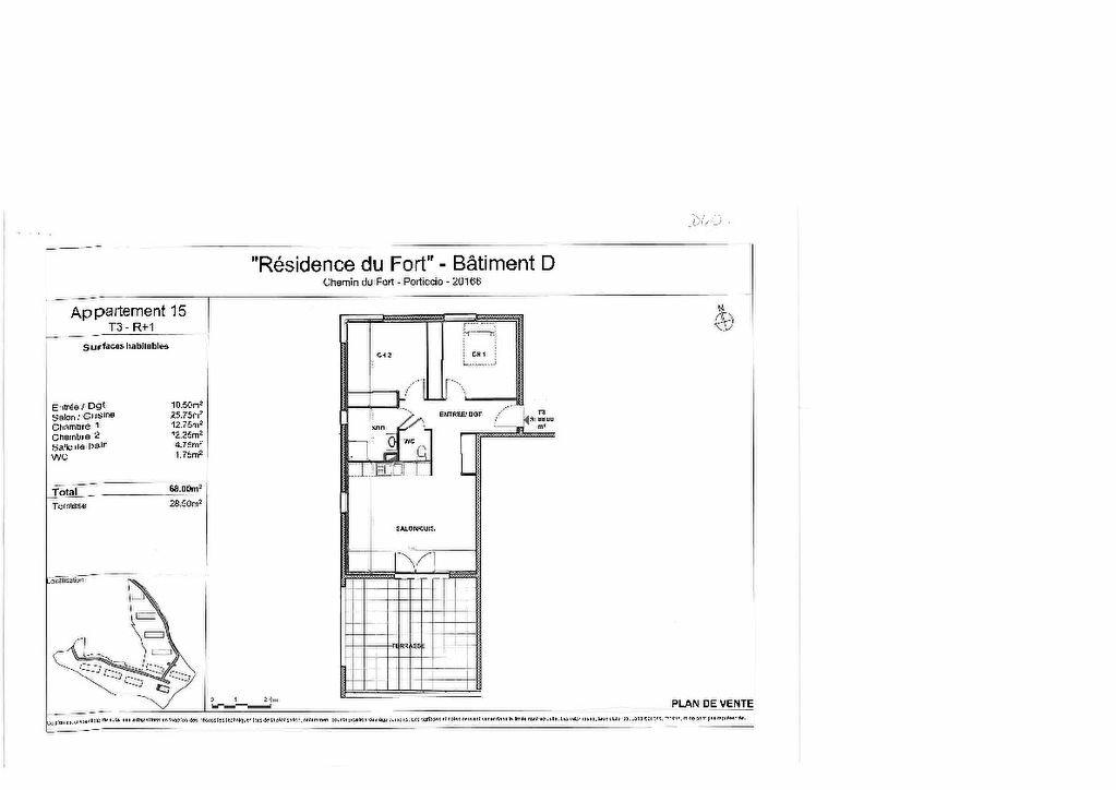 Appartement à vendre 3 68m2 à Grosseto-Prugna vignette-3