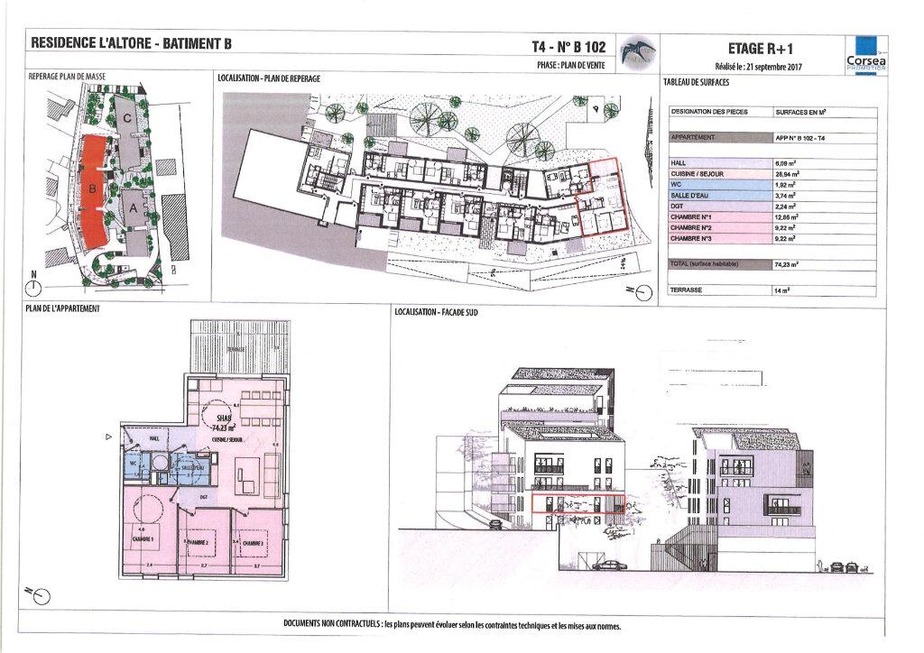 Appartement à vendre 3 74.25m2 à Ajaccio vignette-4