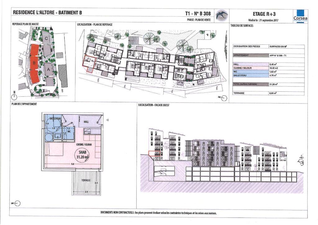 Appartement à vendre 1 30.92m2 à Ajaccio vignette-4