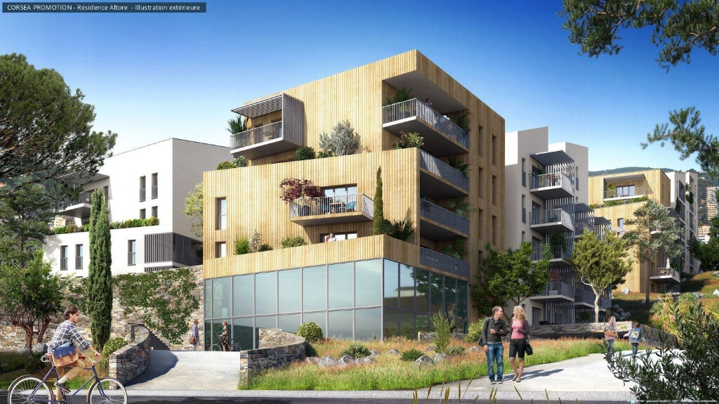Appartement à vendre 2 56.17m2 à Ajaccio vignette-1