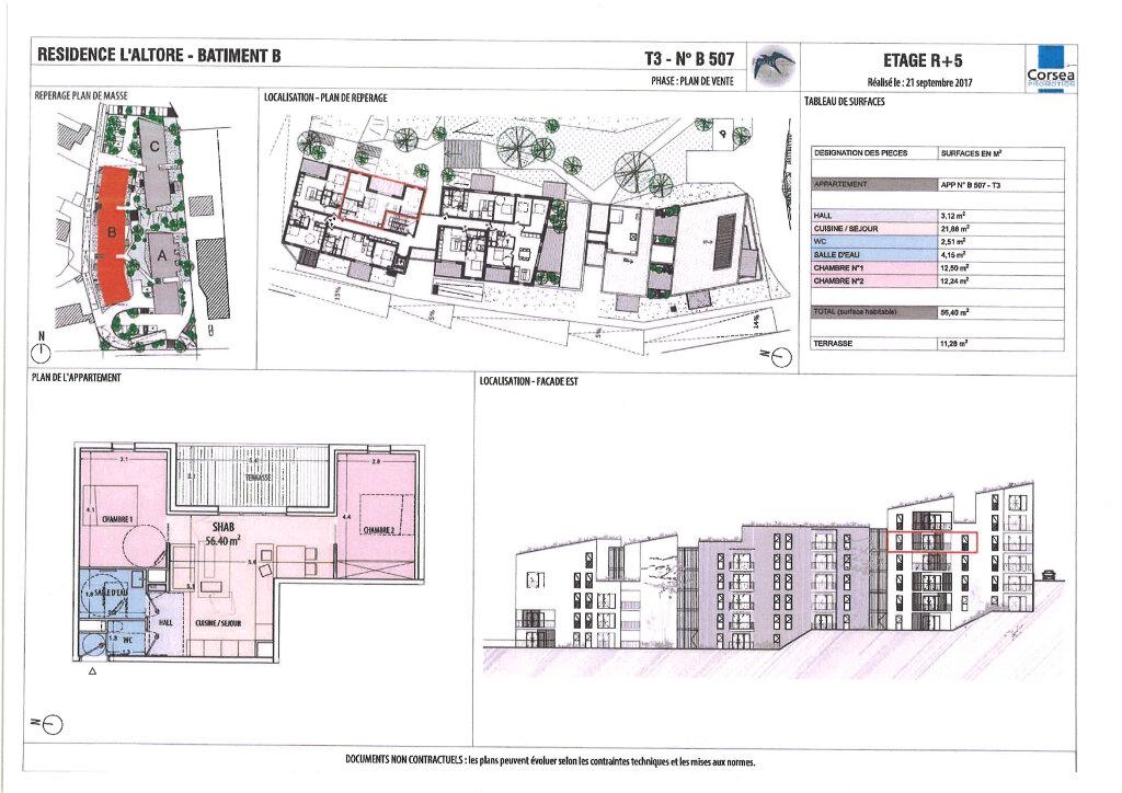 Appartement à vendre 2 56.17m2 à Ajaccio vignette-4