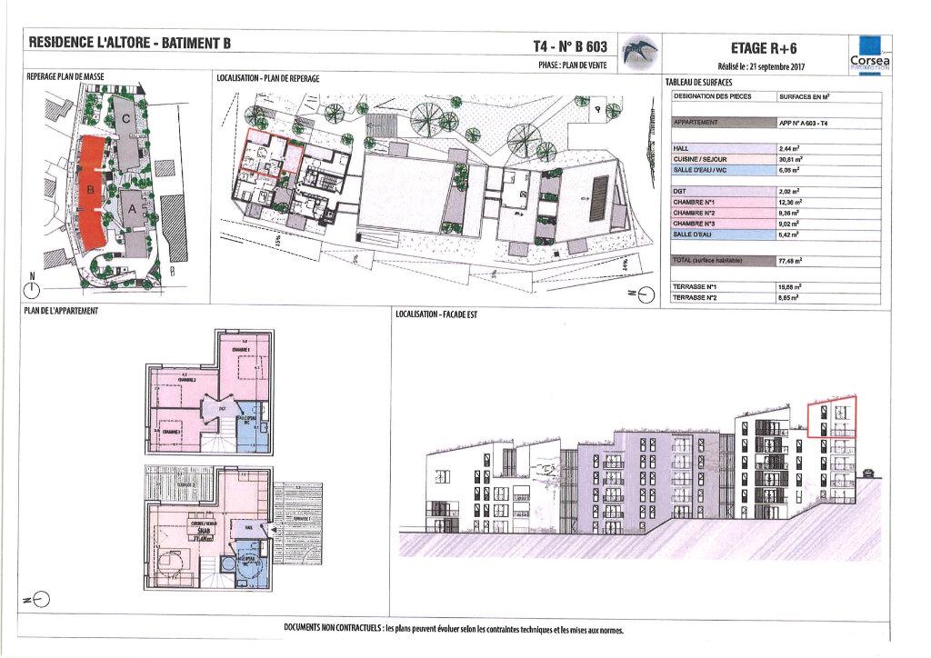 Appartement à vendre 4 77.48m2 à Ajaccio vignette-4
