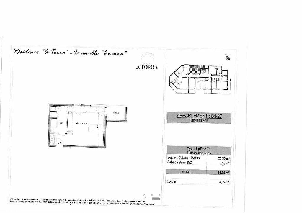 Appartement à vendre 1 31.9m2 à Ajaccio vignette-2