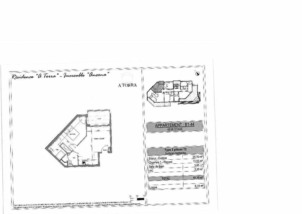 Appartement à vendre 2 41.1m2 à Ajaccio vignette-2