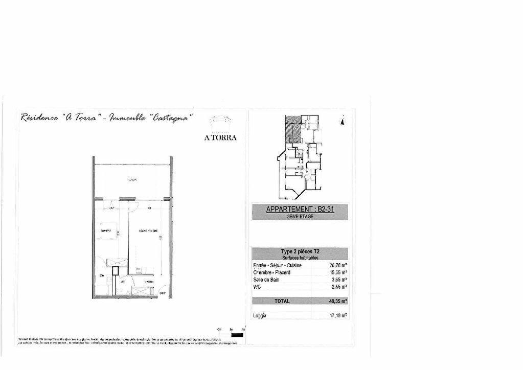 Appartement à vendre 2 48.35m2 à Ajaccio vignette-2