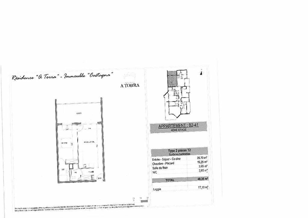 Appartement à vendre 2 48.35m2 à Ajaccio vignette-3