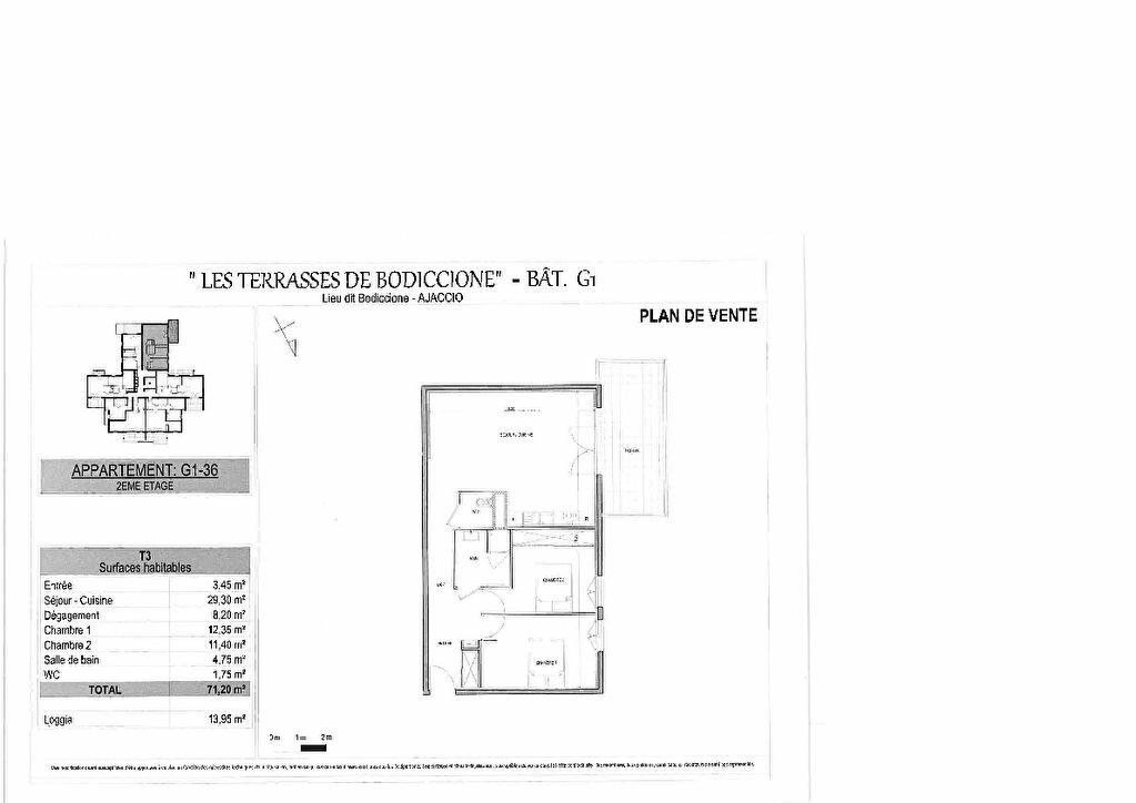 Appartement à vendre 3 71.2m2 à Ajaccio vignette-4