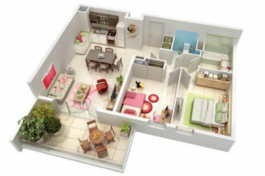Appartement à louer 3 67.7m2 à Marseille 11 vignette-5