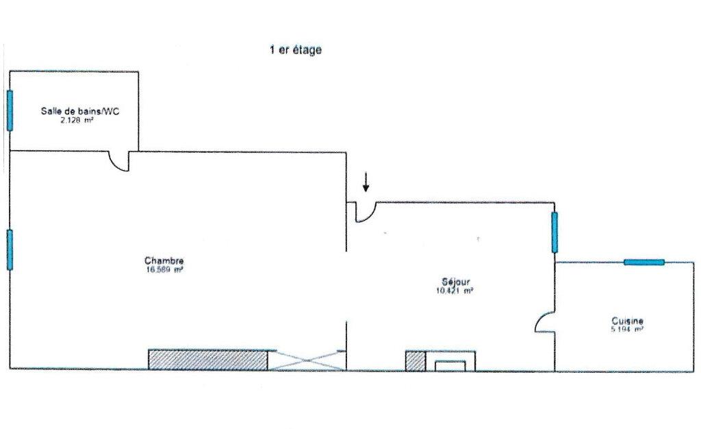Appartement à louer 2 34m2 à Fontainebleau vignette-6