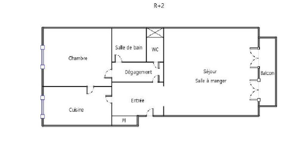 Appartement à louer 2 59.92m2 à Fontainebleau vignette-7