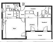 Appartement à vendre 3 61.36m2 à Castelginest vignette-6