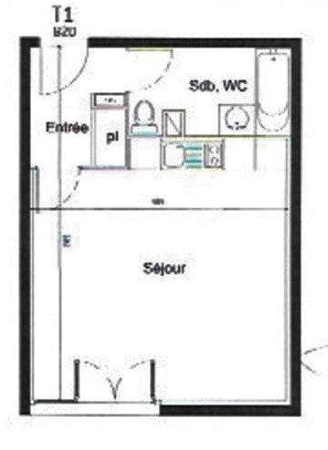 Appartement à vendre 1 32.9m2 à Castelginest vignette-2