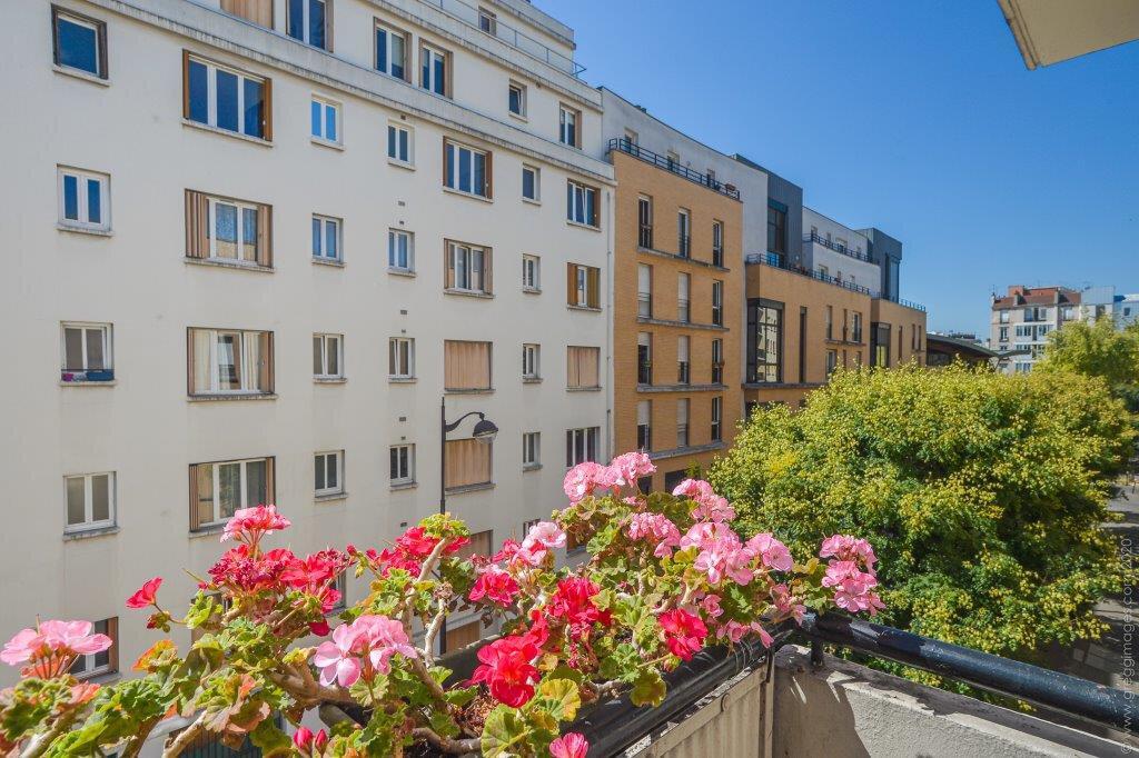 Appartement à vendre 2 44.07m2 à Paris 20 vignette-1