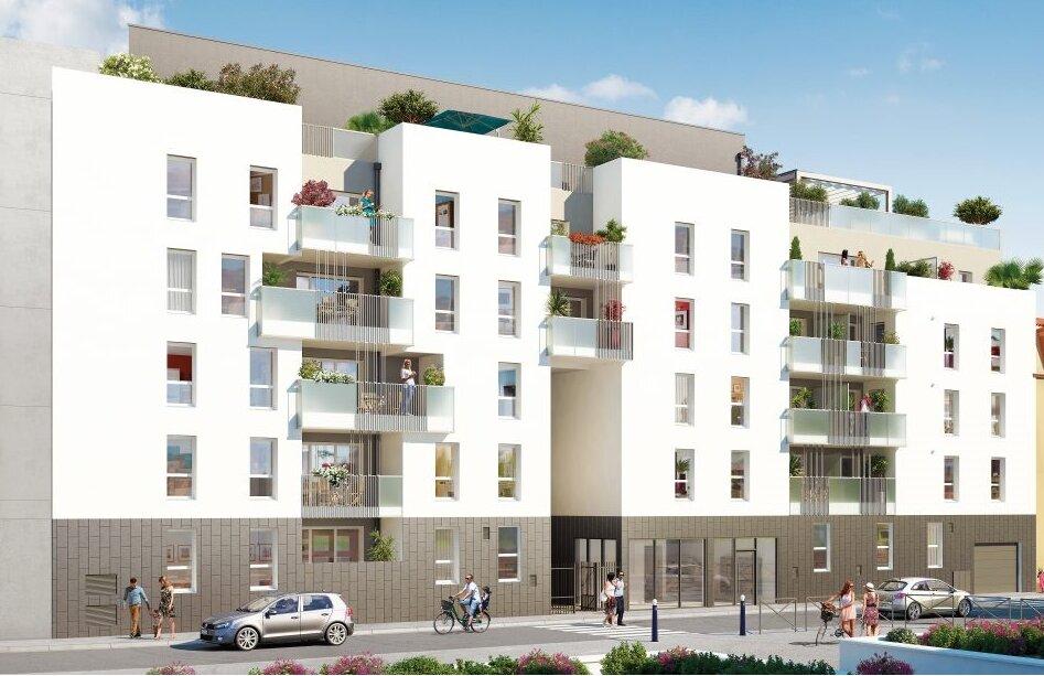 Appartement à vendre 3 62.36m2 à Villeurbanne vignette-3