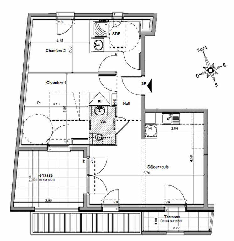 Appartement à vendre 3 55.15m2 à Roquebrune-Cap-Martin vignette-1