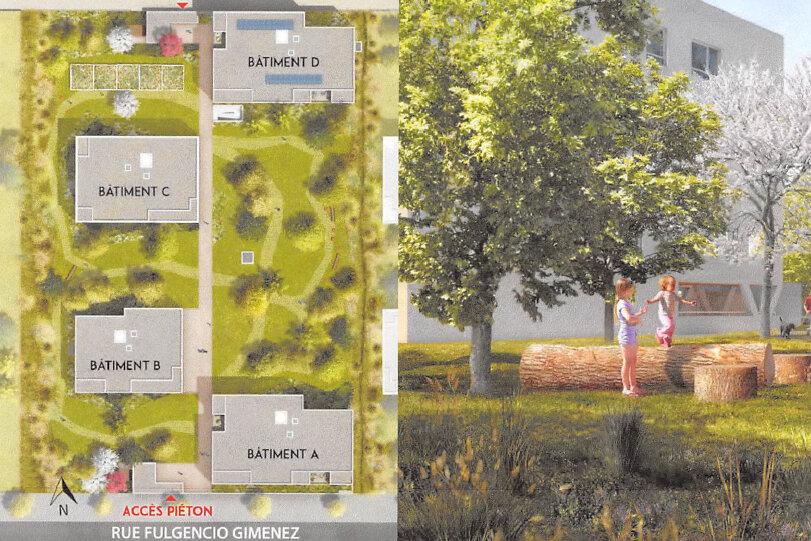 Appartement à vendre 2 40.08m2 à Vaulx-en-Velin vignette-2