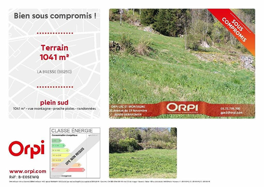 Terrain à vendre 0 1041m2 à La Bresse vignette-1