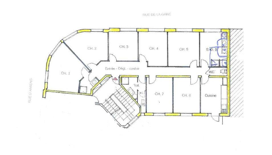 Appartement à louer 1 12.4m2 à Compiègne vignette-10