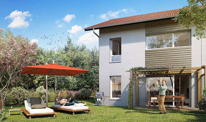 Maison à vendre 4 87m2 à Saint-Martin-Bellevue vignette-1
