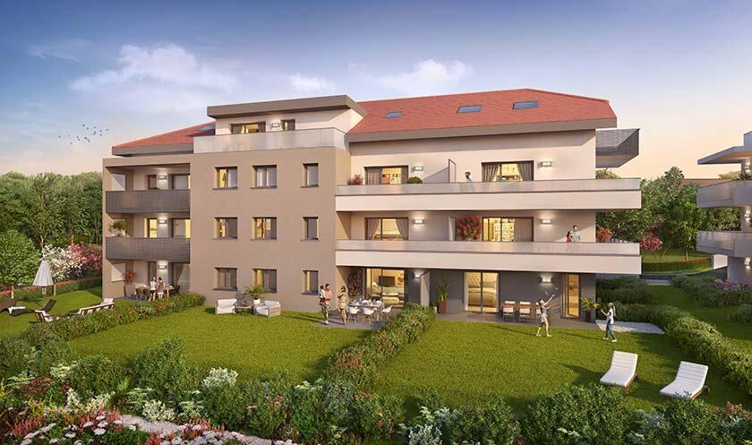 Appartement à vendre 2 40.71m2 à Etaux vignette-1