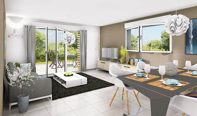 Appartement à vendre 4 84m2 à Douvaine vignette-2