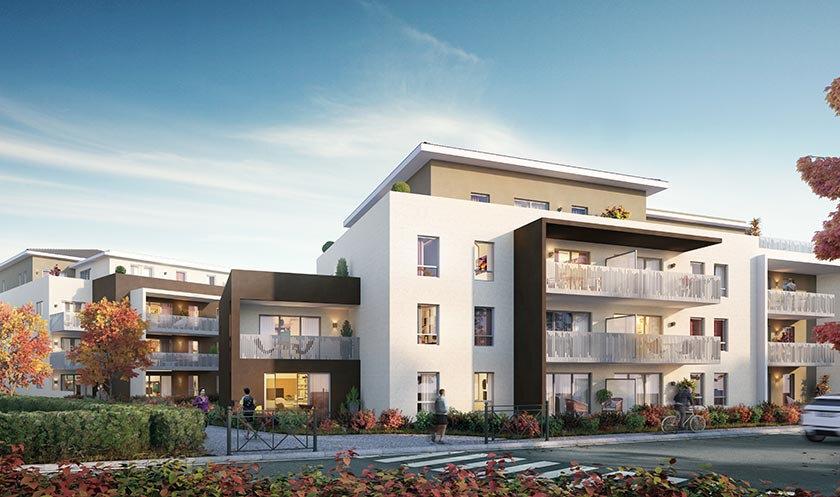 Appartement à vendre 3 65.53m2 à Vétraz-Monthoux vignette-1