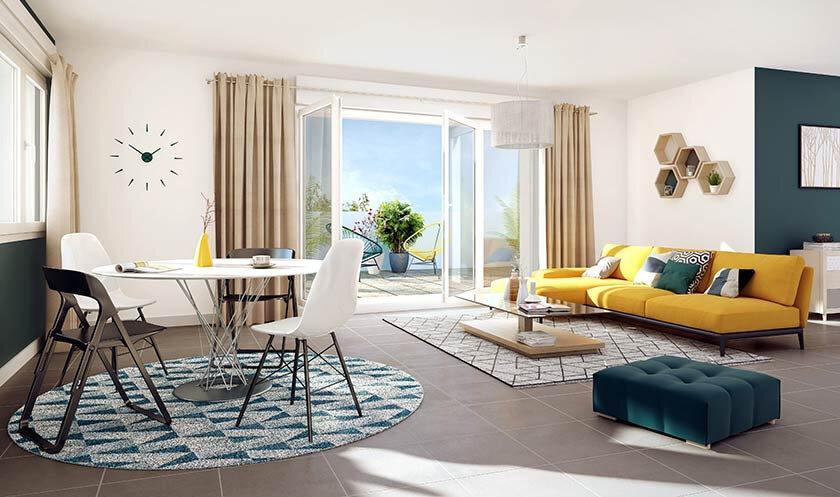 Appartement à vendre 3 65.53m2 à Vétraz-Monthoux vignette-2
