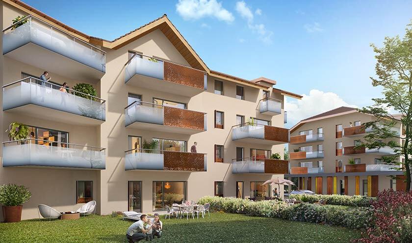 Appartement à vendre 2 47.88m2 à Faverges vignette-2
