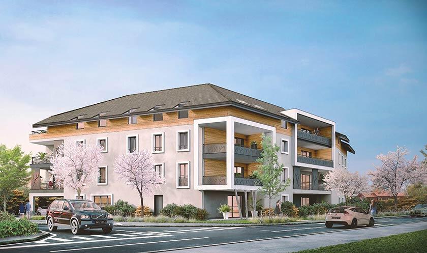 Appartement à vendre 2 41.92m2 à Douvaine vignette-1
