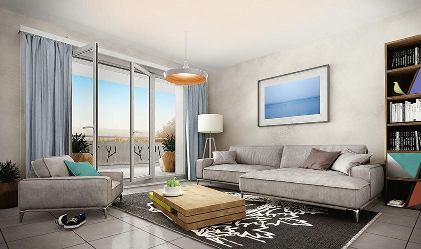 Appartement à vendre 2 41.92m2 à Douvaine vignette-2