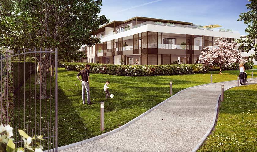 Appartement à vendre 3 65.19m2 à Vétraz-Monthoux vignette-3