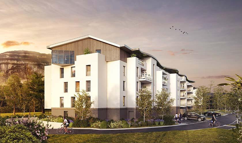 Appartement à vendre 2 40.58m2 à Étrembières vignette-1