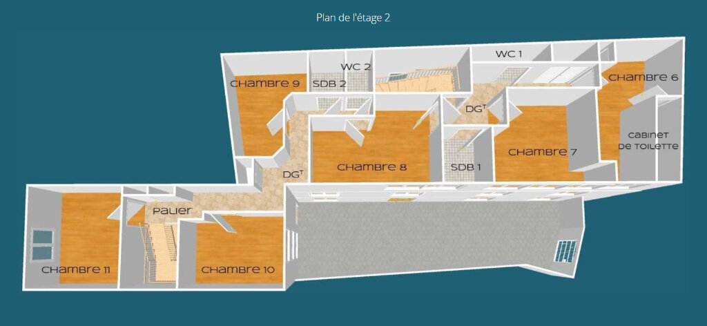 Maison à vendre 15 350m2 à Poitiers vignette-4