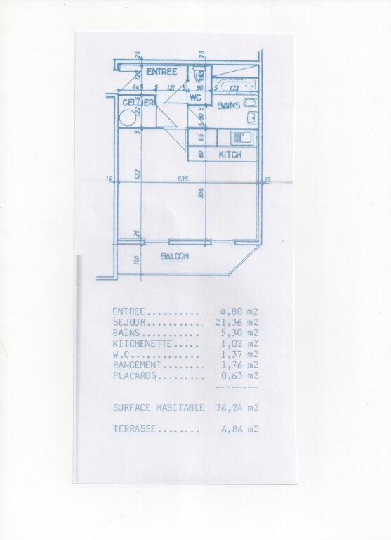 Appartement à vendre 1 34.89m2 à Eysines plan-1