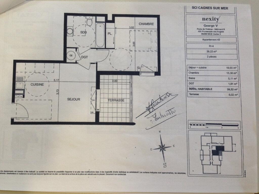 Appartement à louer 2 39.22m2 à Cagnes-sur-Mer vignette-12