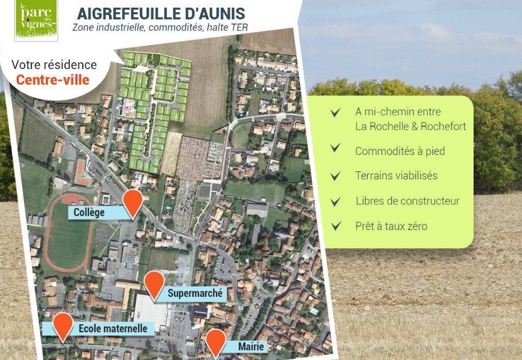 Terrain à vendre 0 273m2 à Aigrefeuille-d'Aunis vignette-1